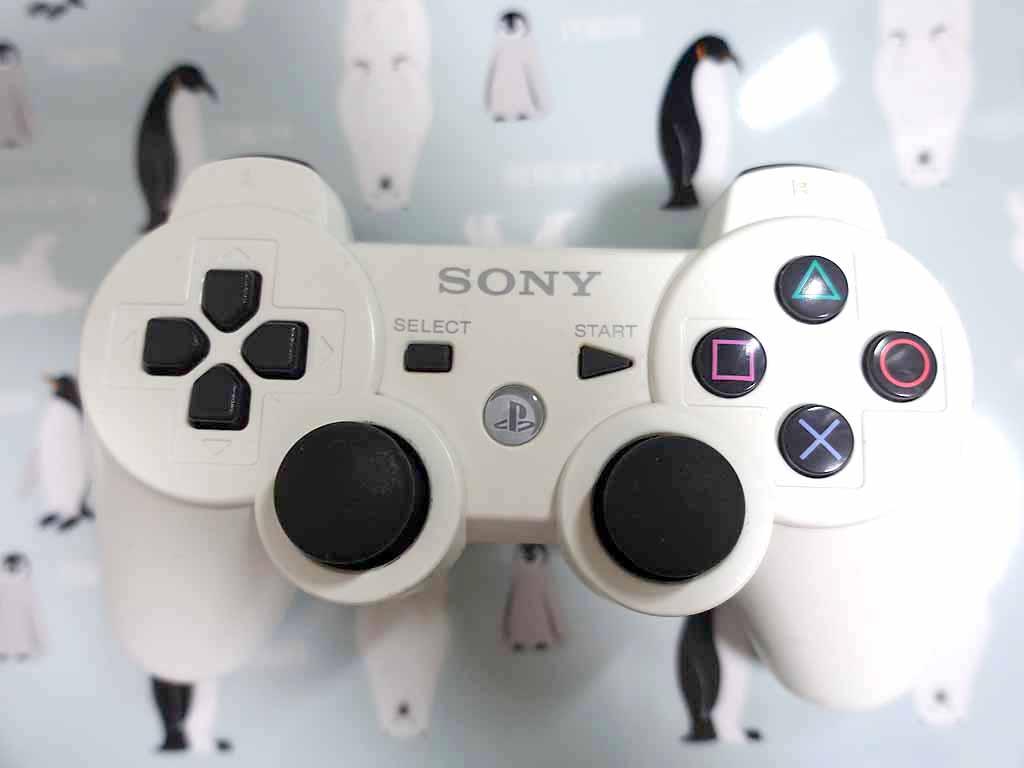 PS3コントローラーDUALSHOCK3(白)