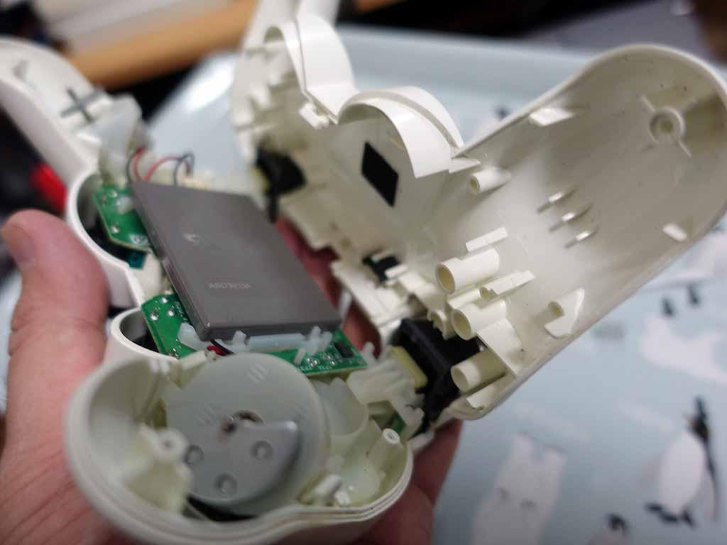 PS3コントローラーDUALSHOCK3修理(戻し作業)