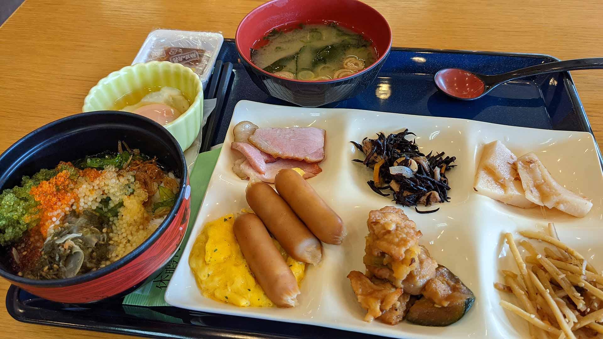うさぎ島(休暇村・朝食)