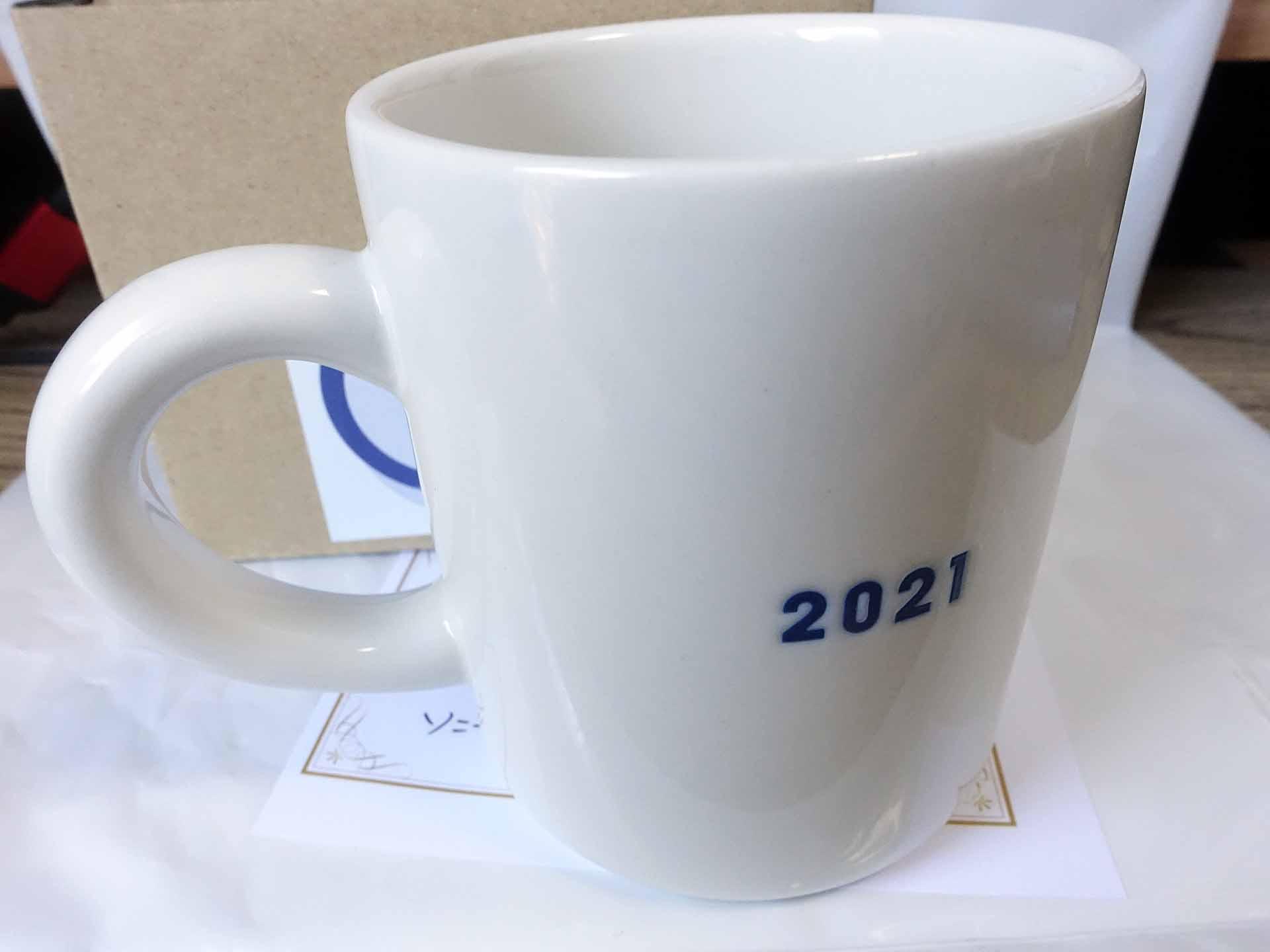 ソニーお誕生日マグカップ2021(2021)