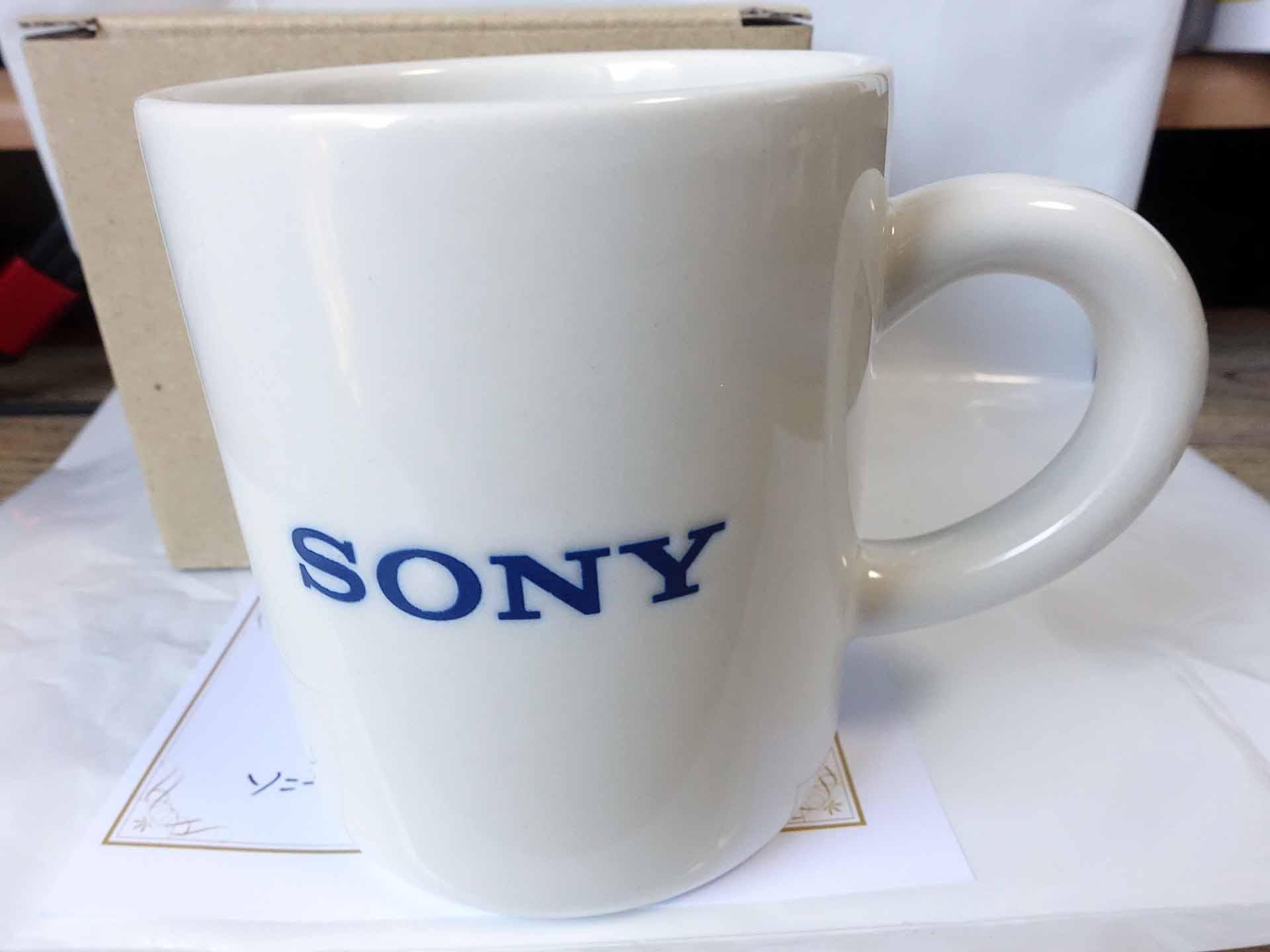 ソニーお誕生日マグカップ2021(SONY)