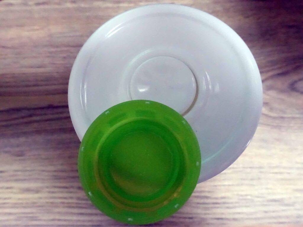 ダイソー粒ガムボトル(直径2センチに加工)